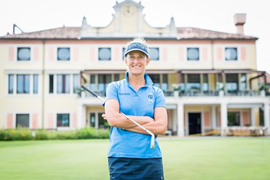 Golf con Giulia Sergas